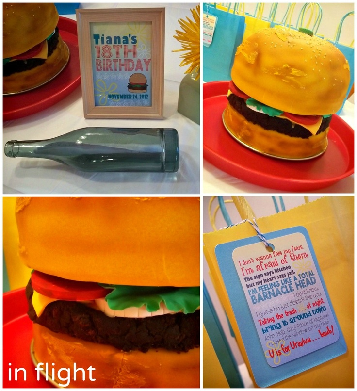 154 Best Images About SpongeBob Party On Pinterest