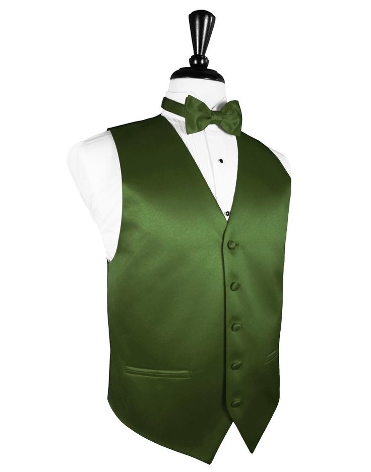 """Clover """"Premier"""" Satin Tuxedo Vest"""
