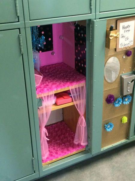 10 Insanely Creative Ways To Diy Your School Locker ℍ Pinterest