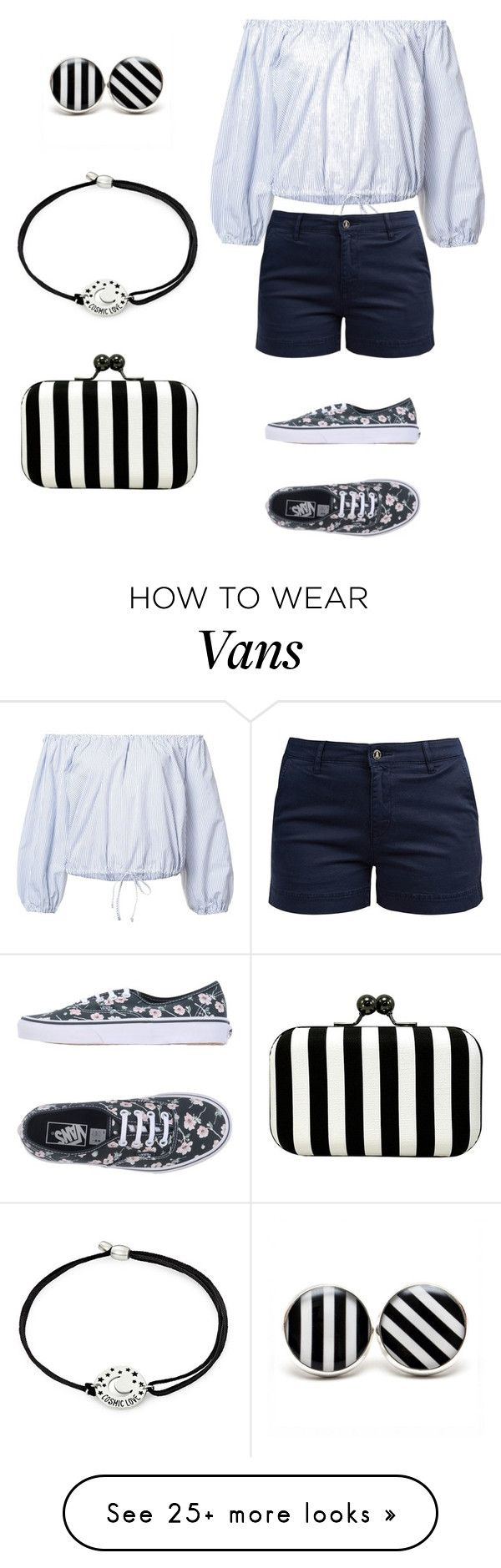 """""""see strep"""" by ludopolier on Polyvore featuring Sea, New York, Barbour, Vans, La Regale and Alex and Ani"""