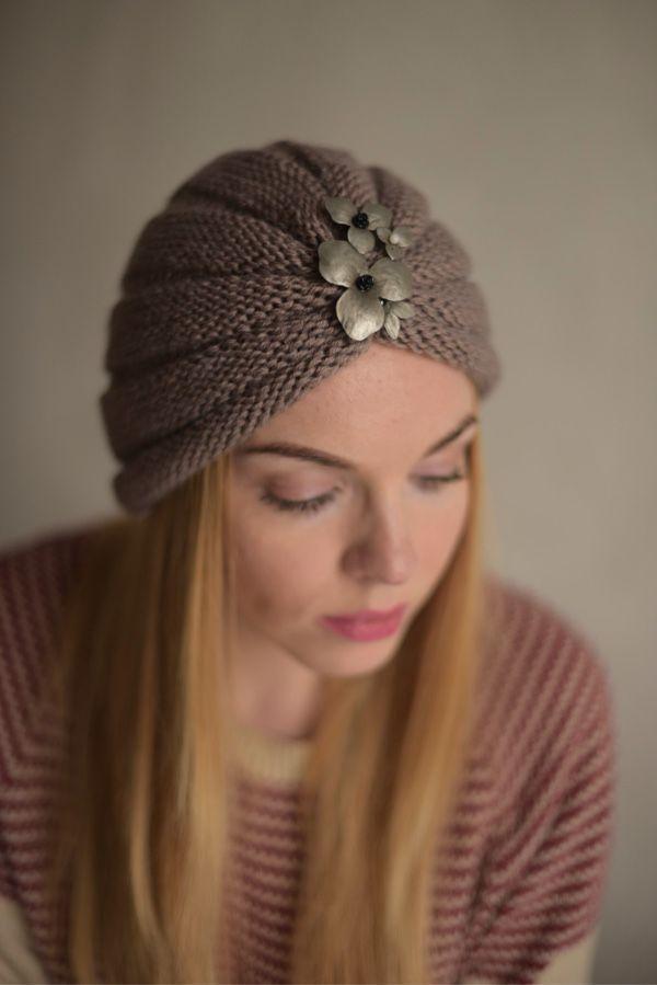 Купить Чалма-тюрбан - чалма, тюрбан, повязка вязаная, повязка на голову, вязаная шапка
