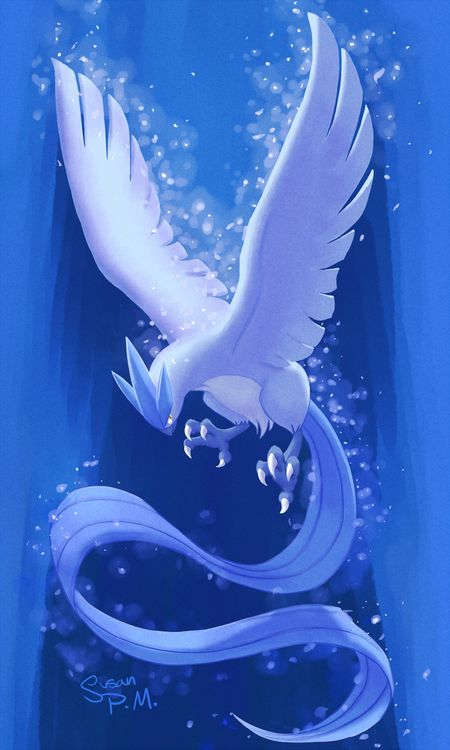 Articuno. My favorite legendary bird. Ahh Pokemon Blue and 1998.