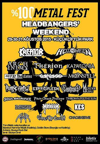 %100 Metal Fest Headbangers' Weekend