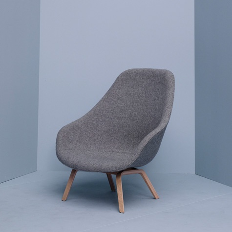 About a louge chair by Hay
