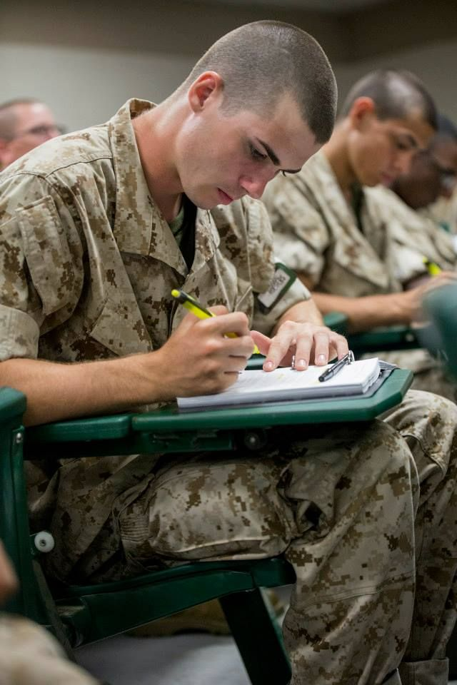terms to know during Marine Corps boot camp