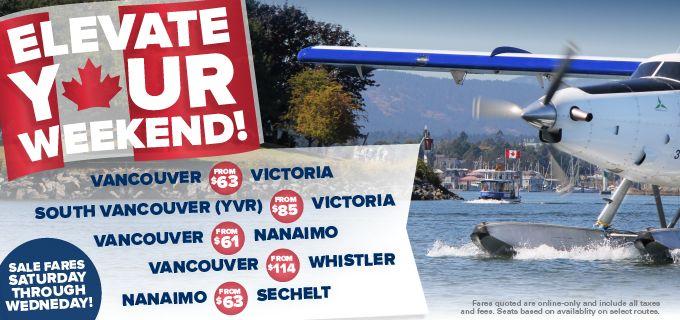 Vancouver Harbour Air Seaplanes