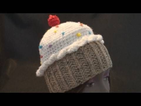 How to Crochet a CupCake Hat