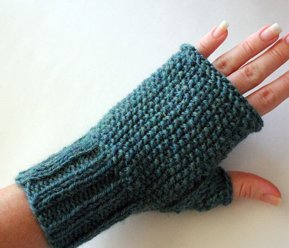 Knitting Mittens With Straight Needles : Best images about fingerless gloves knitting on