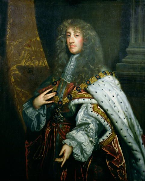 School of Peter Lely (1618–1680) Portrait of James II of England (1633-1701), 17th century. Oil on canvas. Bolton Museum and Art Gallery Lancashire, UK