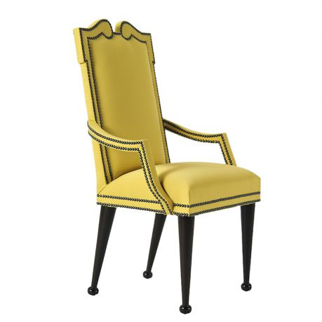 SOIREE - ARMCHAIRS dining chair yellow