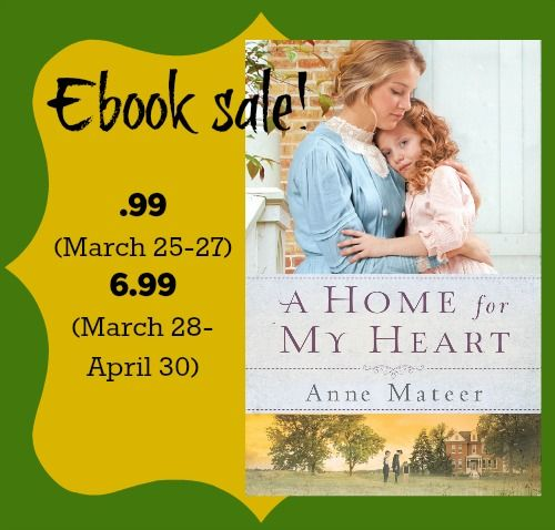Last day at .99! A Home for My Heart ebook sale http://amzn.to/1ALXqgW