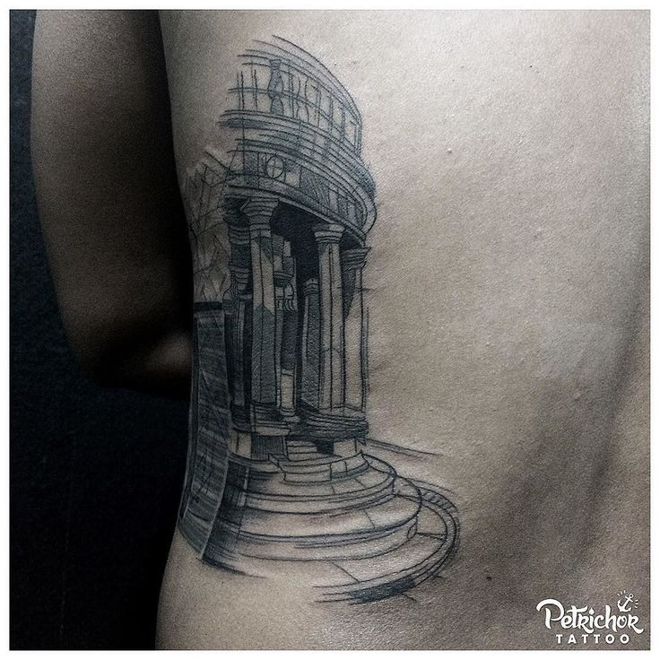 The architectural sketches design. . . #blacktattooart #btattooing #blacktattooing #linework #lineworktattoo #inkstinctsubmission #blackworktattoo #taot #blackworkerssubmission #tattoolife #blacktattoo #lineworks #blackworks #dotworks #occultart #blacktattoomag #inkedblaq  #tattoojogja #jogjatattoostudio #INDONESIA #blacktattooartist