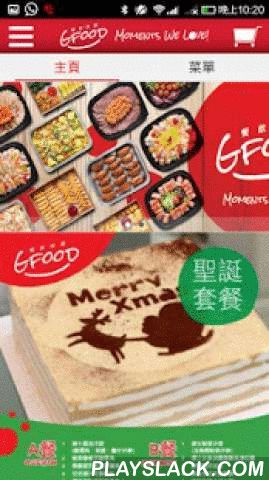 "Gfood  Android App - playslack.com ,  The division provides multi Food, including salads, cold dish, bowl, snacks, hot pot, Chinese and Western style noodles and rice, sweets, drinks, cakes and vegetable. We also design a suitable group boxes, with different activity groups need, such as snack boxes, lunch boxes and groups box lunch special.""Let to become relaxed and comfortable"" is our mission, because we know there are a lot of things to and details; and preparing dinner is ""annoying""…"