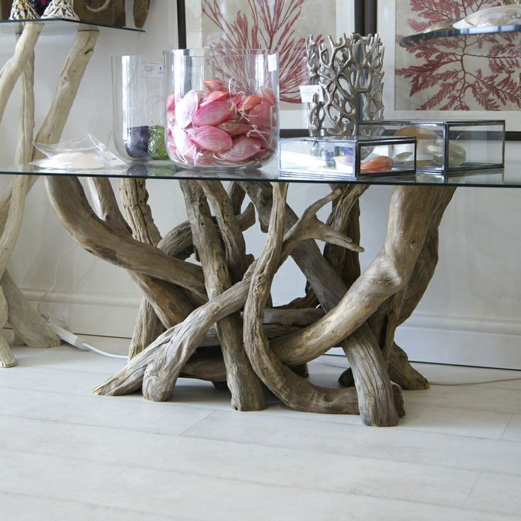 9 Best Our Beautiful Driftwood Base Tables Images On