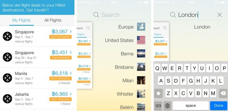 Hitlist app adds push notifications so you never miss bargain flights again