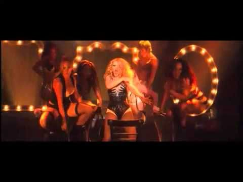 Express from Burlesque... the beat on this is great if you have a great bass booster....