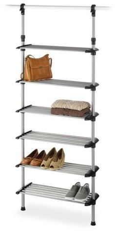 Whitmor S Six Shelf Closet System Will Create Extra E In Any It Hang Using A Standard Rod Or Wire Shelving This Features Easy No