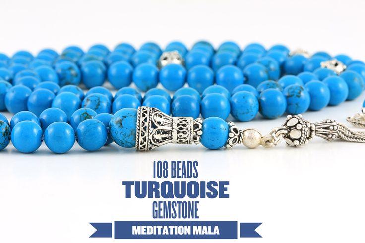 Turquoise Mala #mala #turquoise