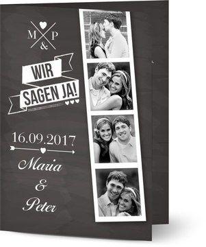 Von Ihnen personalisierte Hochzeitseinladungen beim Optimalprint Deutschland