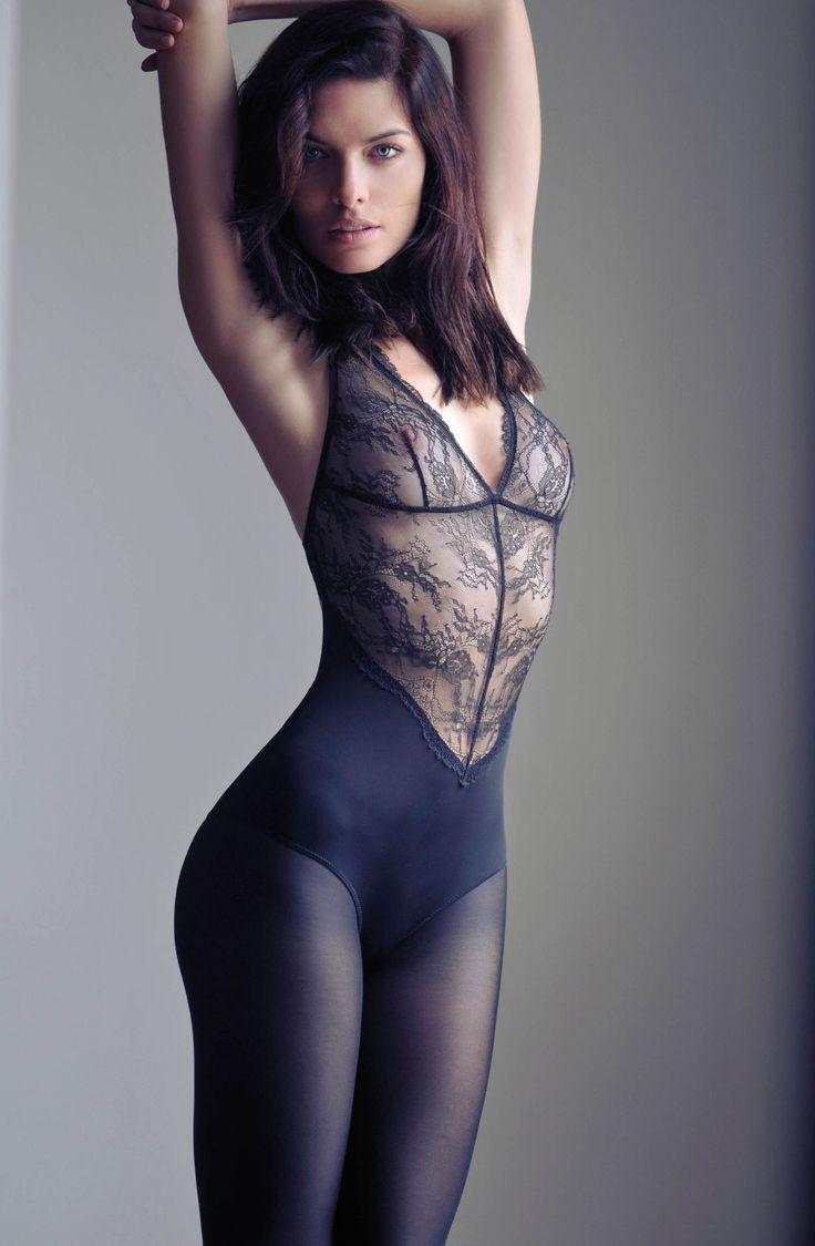 Pantyhose bodysuit videos