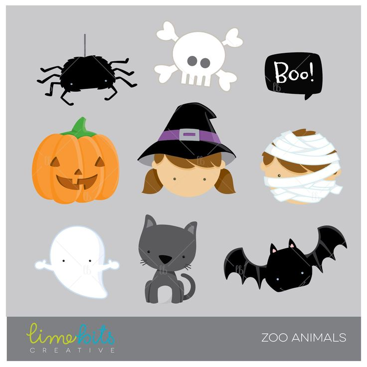 http://mygrafico.com/shop/cliparts/halloween-clipart-5/ Halloween elements clip art.