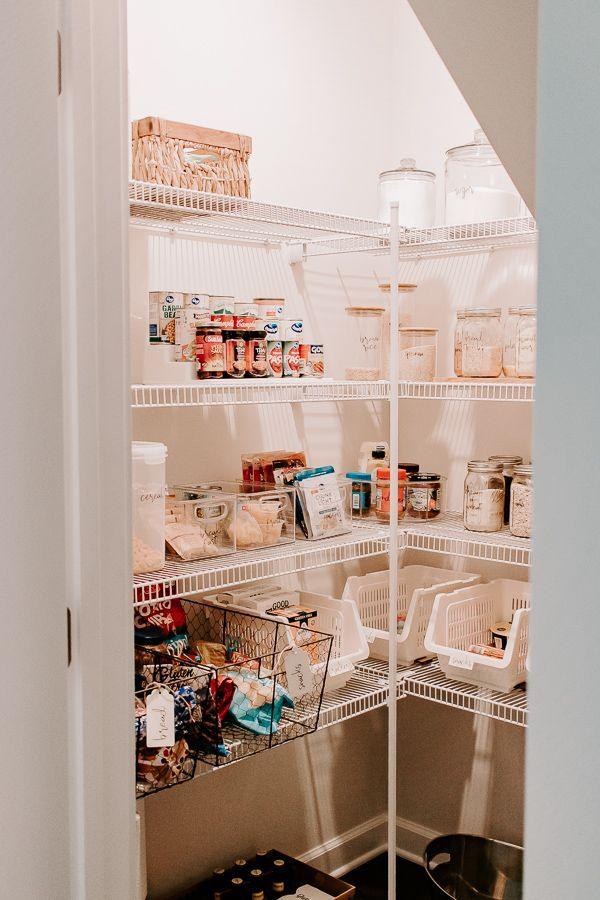 Ideas For Organizing A Walk In Pantry Diy Pantry Organization Walk In Pantry Pantry Labels