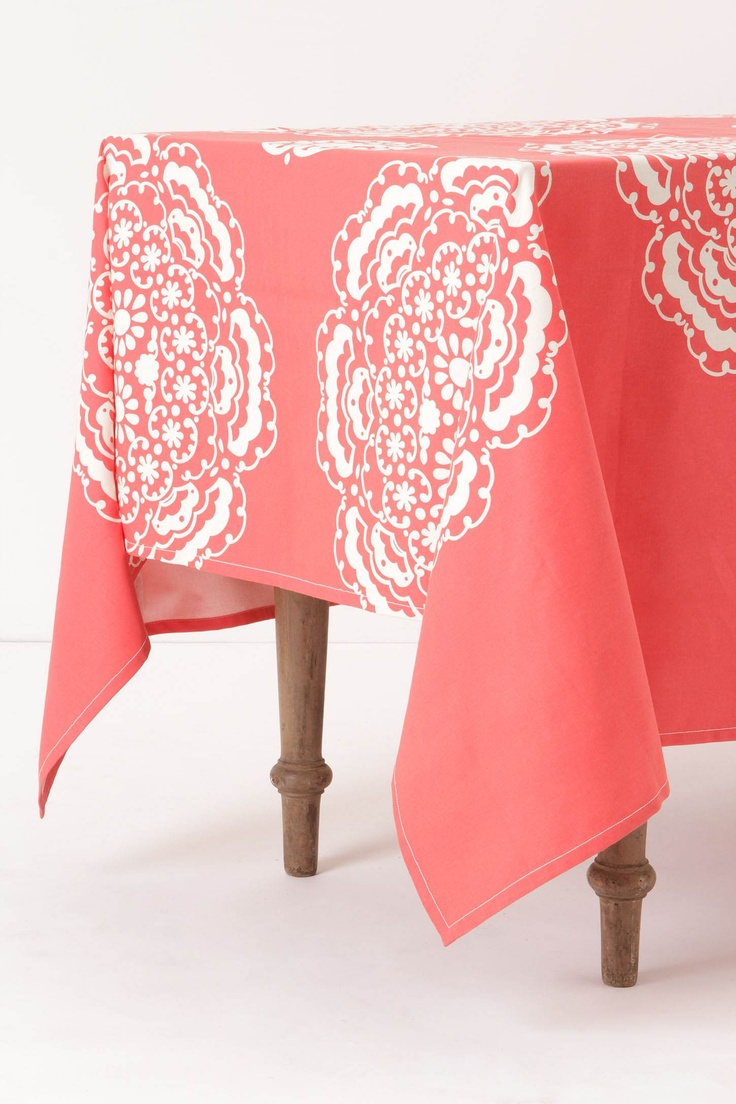 Cool Find This Pin And More On Tablecloths And Runners.