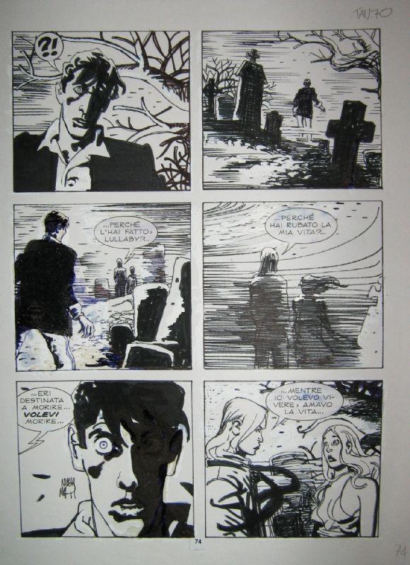 Dylan Dog Mari #123 Phoenix Comic Art