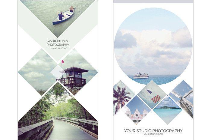 Blog & Print Layouts: Geo Modern | Design Aglow