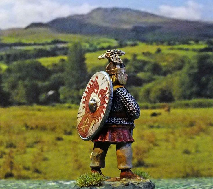 Someone reminded me that I still had a figure of the fictional character  Marcus Clodius Ballista from the books written by Harry Sidebottom. So I decided to finish him. The figure is a 28mm metal figure produced by Aventine Miniatures.  The series centres on the Anglo-Roman soldier Marcus Clodius Ballista (a fictionalized version of Balista, a.k.a. Callistus, one of the Thirty Tyrants) as he must live through and survive the machinations of the Roman Empire and several of the crises of the…