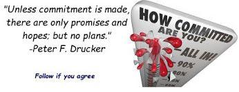 Commitment....