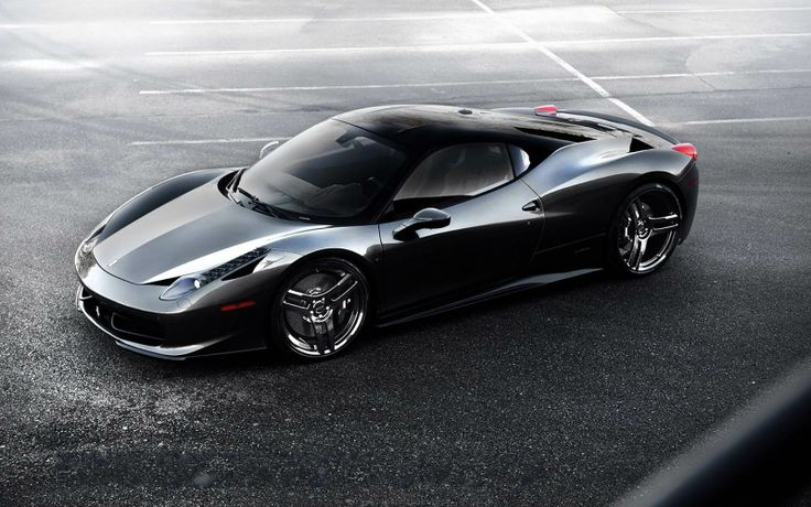 Black Ferrari Hd Wallpapers, Desktop Wallpapers And Use This Url To Find  More PC Wallpapers