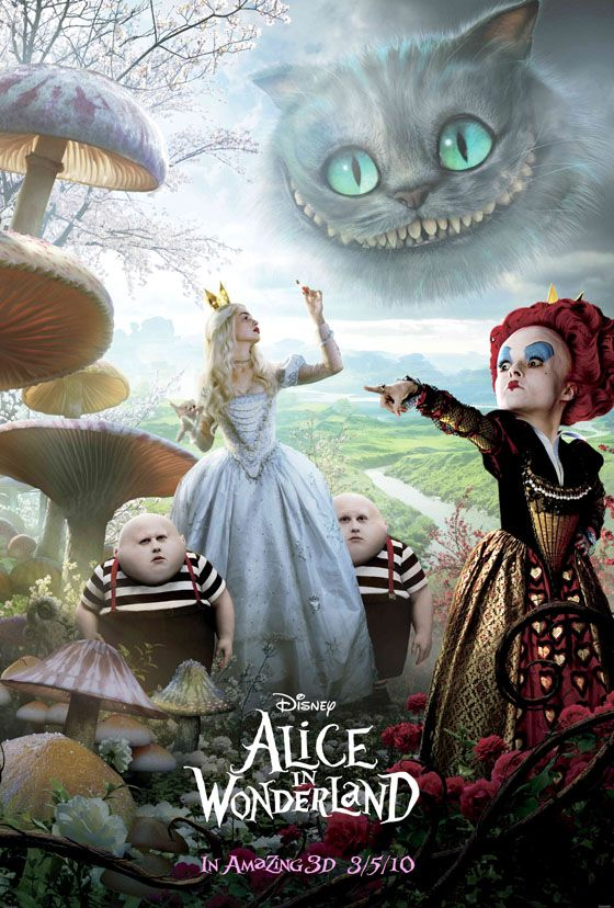 ★! Alice in Wonderland (2010)Things Alice, Burton Imagine, Wonderland Movie, Burton Alice, Alice In Wonderland, Tim Burton, Alice 2010, Wonderland 2010, Aliceinwonderland