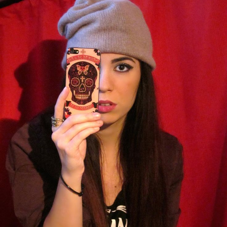 "Sticko mexican skull ""Dia De Los Muertos"" iPhone cover Made in Italy  www.PashionVictim.com"
