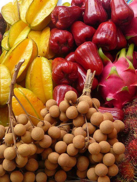 Surinam fruit.