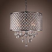 Modern 4 - Light Pendant Lights with Crystal ... – USD $ 199.99