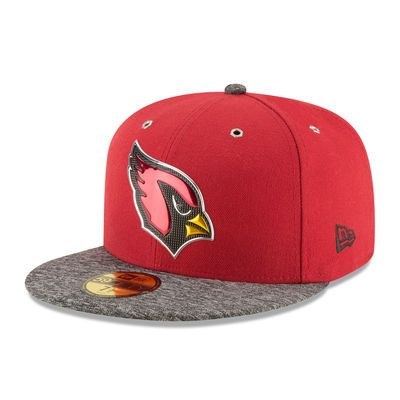 New Era Arizona Cardinals Cardinal/Heathered Gray 2016 NFL Draft On Stage 59FIFTY Fitted Hat