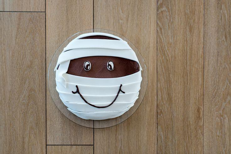 Simpatica #torta #mummia. Scopri la ricetta su http://www.paneangeli.it/ricetta/-/ricetta/Torta-mummia