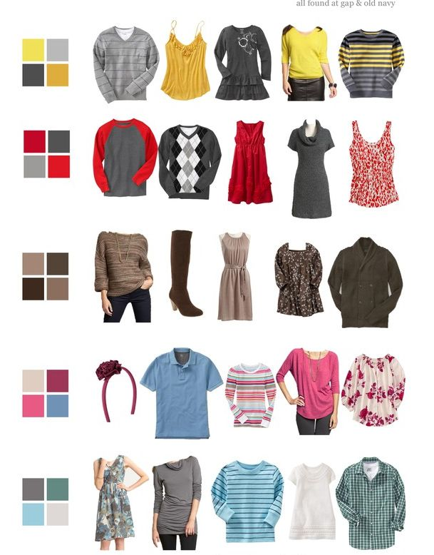 What to wear for family photos » Christina Shook Photography Blog