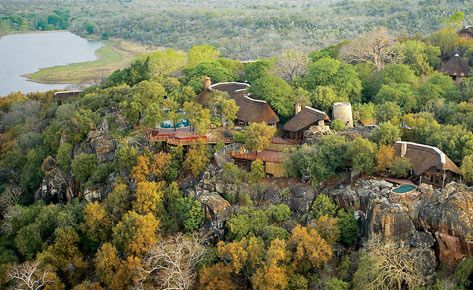 Located in the Malilangwe Wildlife Reserve