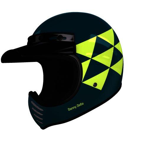helmade Moto-3 Delta Check this out! Mein ganz persönliches #helmade Design auf helmade.com :https://www.helmade.com/de/helmdesign-bell-moto-3-delta-vintage-motocross-helm.html