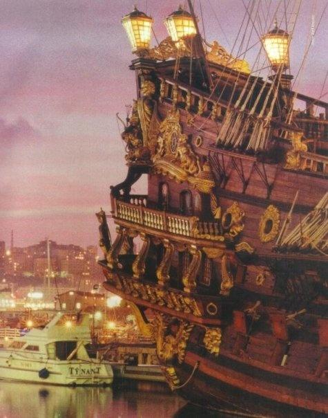 """Il """"Galeone"""": Porto Antico di Genova"""