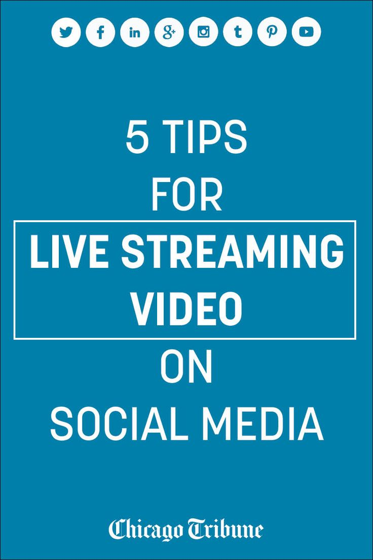 Ready to take on Facebook Live or Instagram Live? Here are tips for live streaming video on social media.