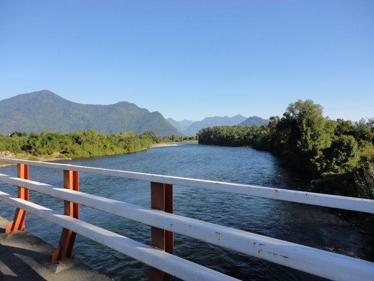 Rio Calcurrupe en Llifen.