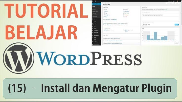 Belajar Wordpress - (15) Install Plugin dan Manajemen Plugin