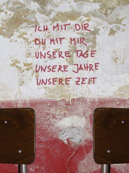 """""""ICH MIT DIR"""" Mixed Media von Juliane Tenner-Hebel jetzt als Poster, Kunstdruck oder Grußkarte kaufen.."""