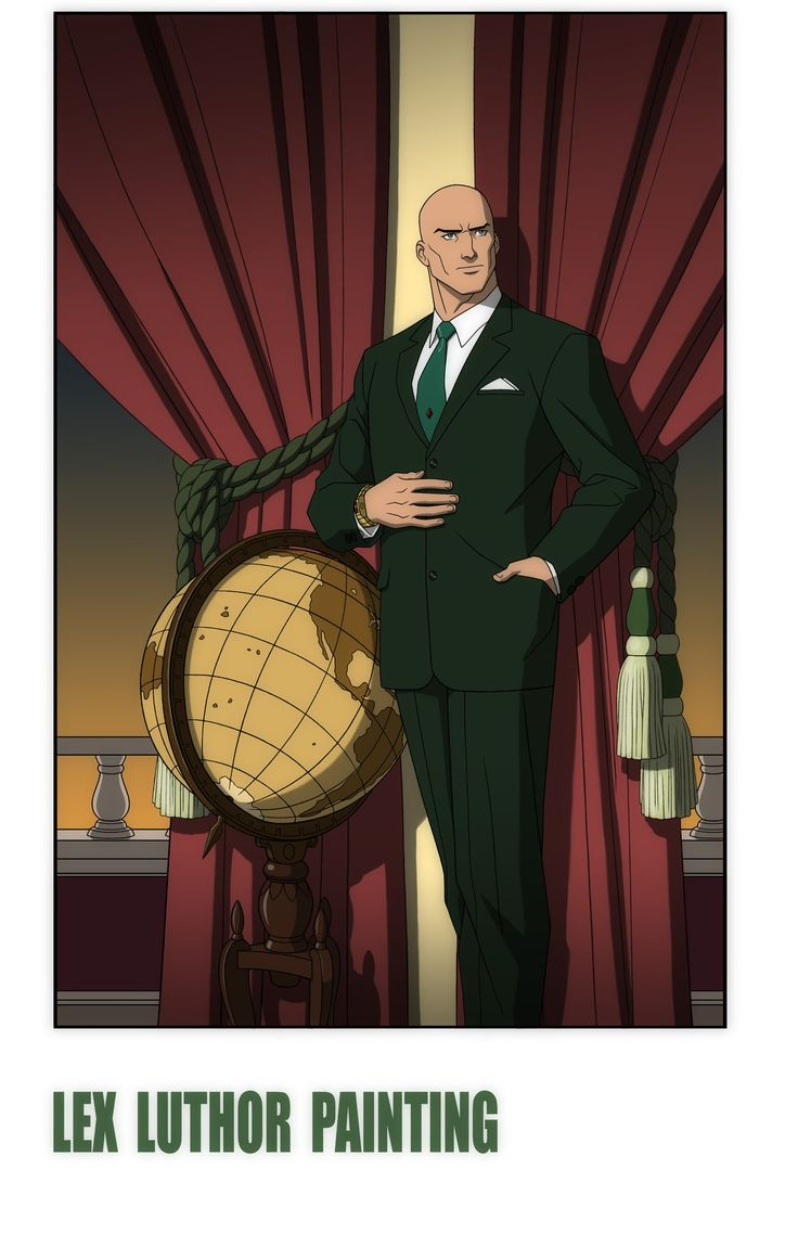 YOUNG JUSTICE: INVASION: LEX LUTHOR PAINTING by Jerome-K-Moore.deviantart.com on @deviantART