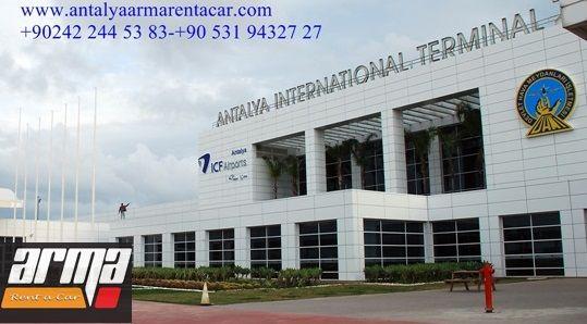 www.antalyaarmarentacar.com Antalya airport terminal