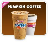 pictures of dunkin donuts pumpkin coffee - Google Search