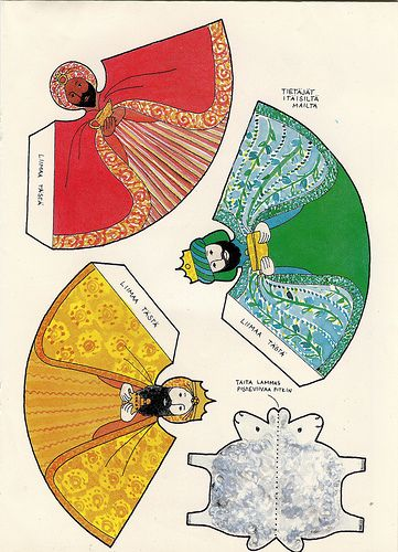 25 best mexican paper dolls images on pinterest mexican for Mexican christmas crafts for kids